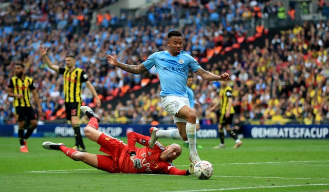 Manchester City v Watford – FA Cup Final – Wembley Stadium