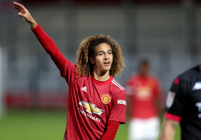 Hannibal Mejbri was in line to make his United debut this week