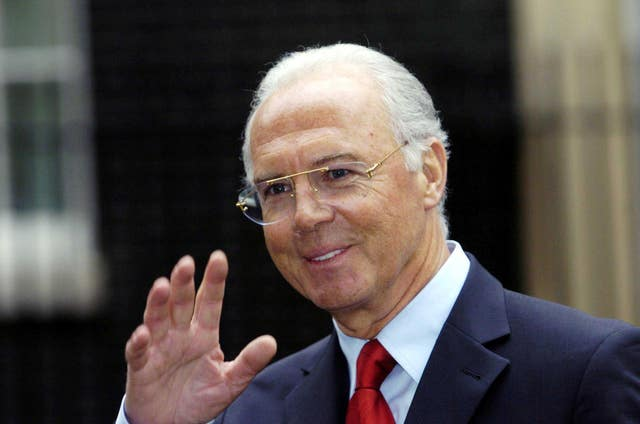 Franz Beckenbauer was due to give evidence.