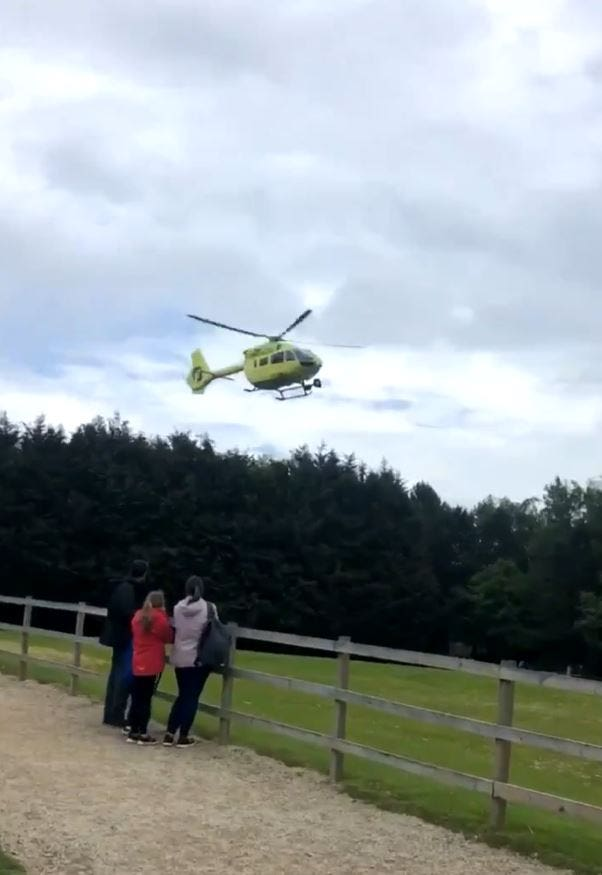 Incident at Lightwater Valley theme park