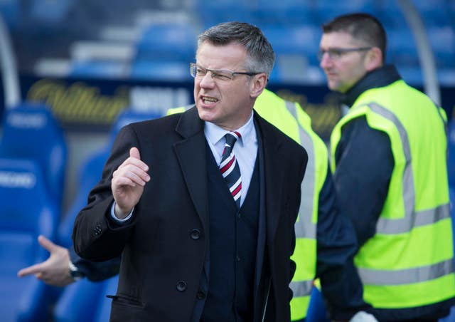 Stewart Robertson sits on the Rangers and SPFL boards