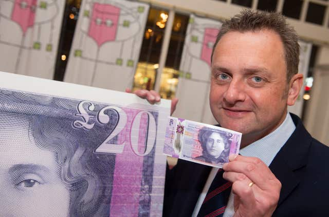 Royal Bank of Scotland's polymer note