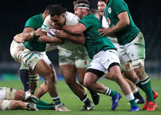 Billy Vunipola is England's strongest carrier