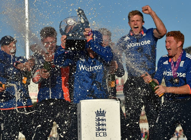 England won the bilateral series against New Zealand in 2015 (Owen Humphreys/PA)