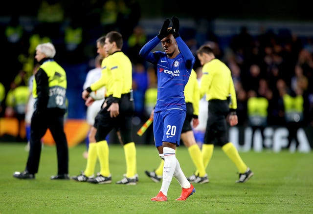 Callum Hudson-Odoi added Chelsea's third goal late on