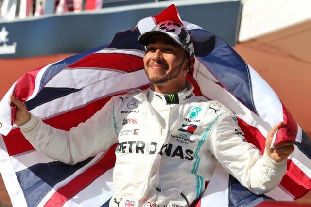 Lewis Hamilton won a sixth Formula One title in 2019