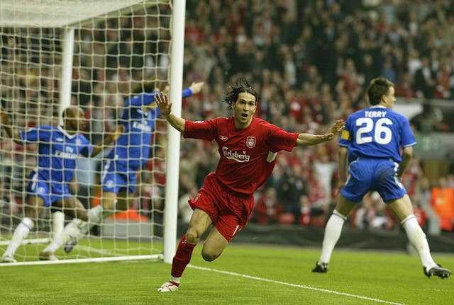 Luis Garcia's effort counted