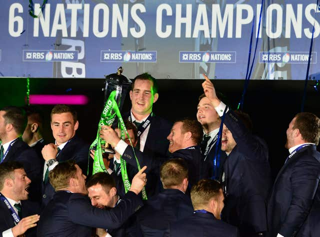 Ireland won the Six Nations at Murrayfield in 2015