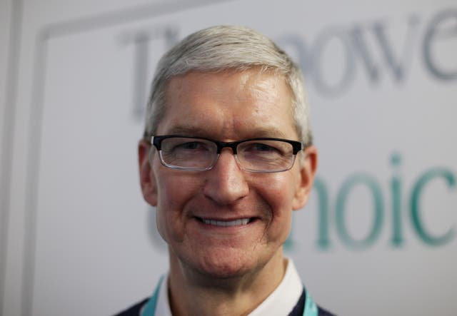 Tim Cook Apple Woodberry Down Primary School Visit