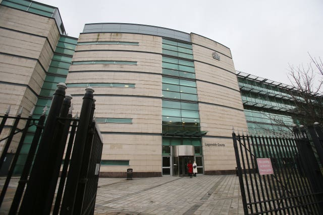 Belfast courts stock