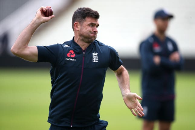 James Anderson will fancy his chances against Australia