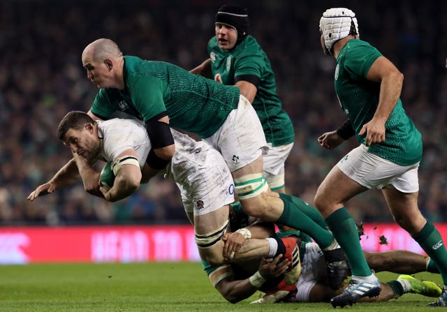 Toner was injured during Ireland's defeat to England