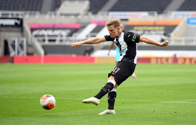 Matt Ritchie scored a superb goal in the defeat