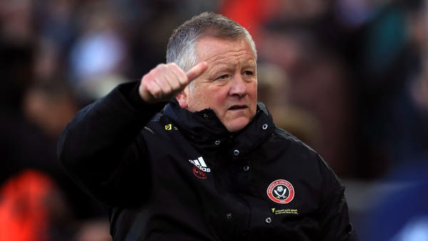 Chris Wilder insists Sheffield United not feeling down despite indifferent start