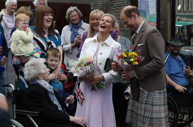 Royal visit to Scotland