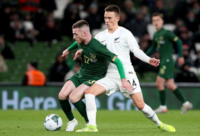 Shamrock Rovers midfielder Jack Byrne may have played himself into contention for a role against the Danes