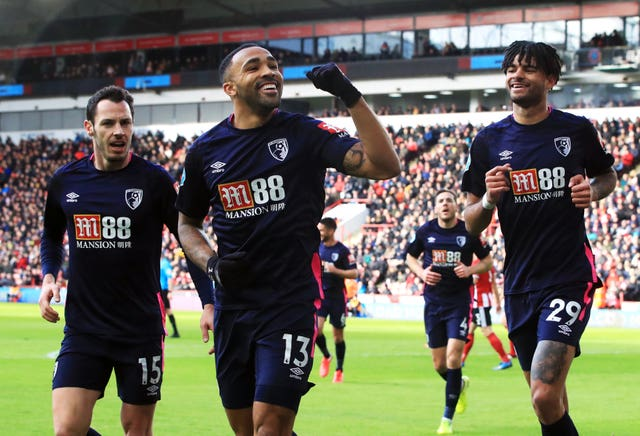Bournemouth's Callum Wilson opened the scoring at Bramall Lane