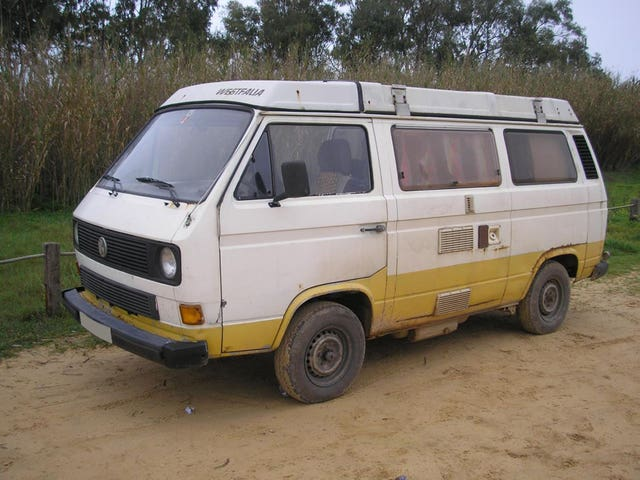 VW T3 Westfalia campervan linked to the suspect