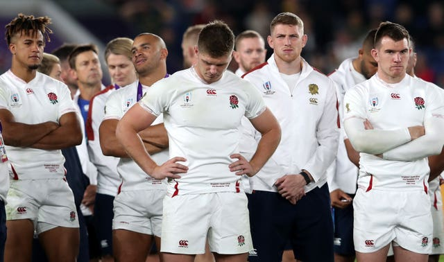 England lost 32-12 in last autumn's World Cup final