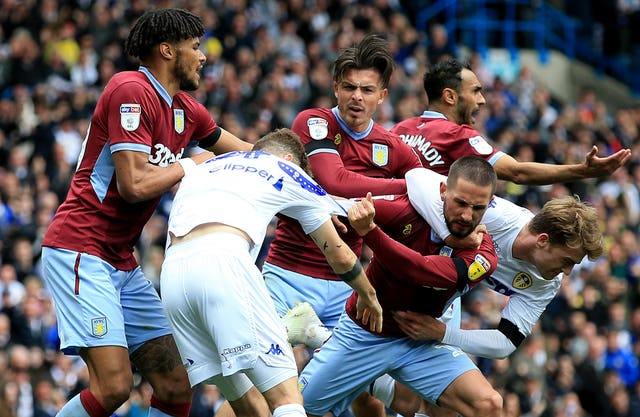 Mateusz Klich's goal against Aston Villa sparked a mass melee at Elland Road