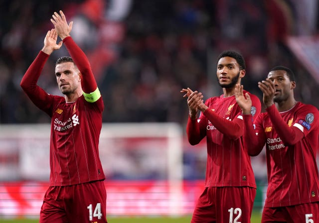 Liverpool secured their Champions League progression