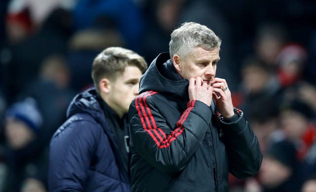 Ole Gunnar Solskjaer endured his first frustrating game in charge