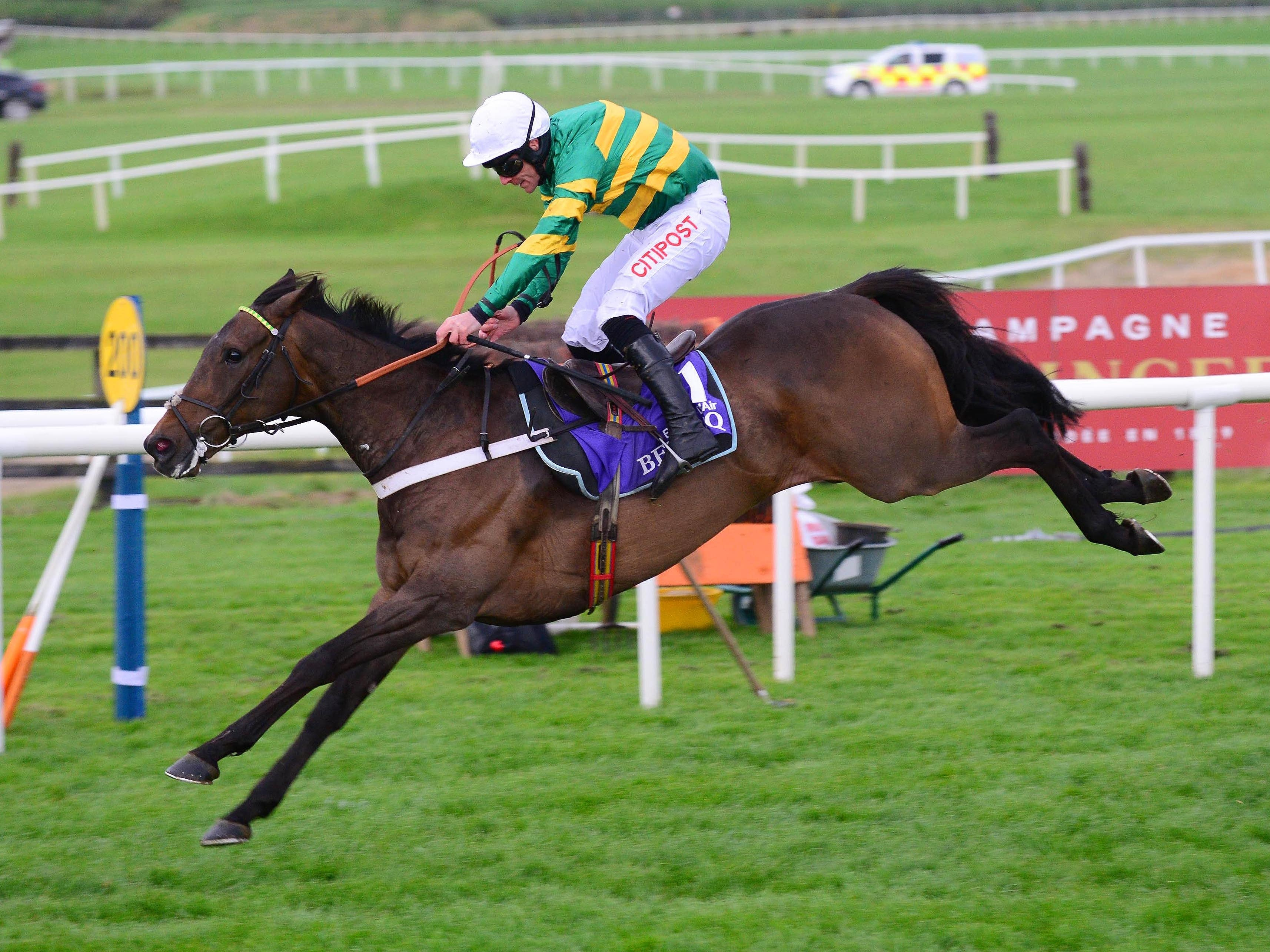 Buveur D'Air will be checked over again on his return to Nicky Henderson's stables (PA)