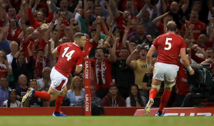 George North scored the only try as Wales became world number one after a 13-6 win over England