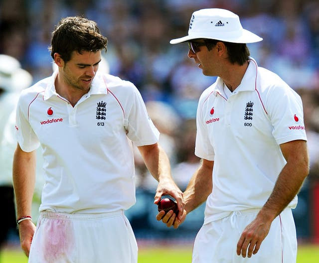 Michael Vaughan (right) believes Anderson (left) will be a big miss.