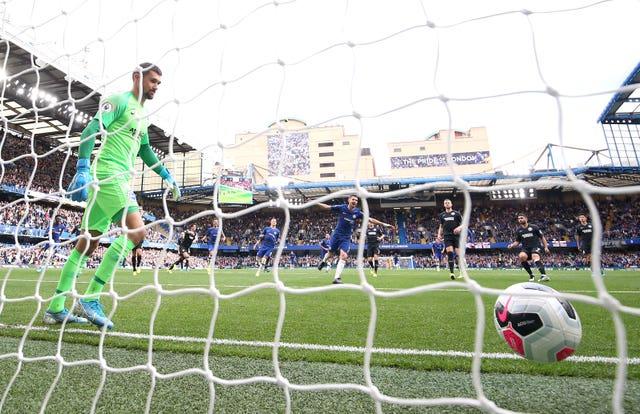 Jorginho's penalty sealed Chelsea's 2-0 win over Brighton