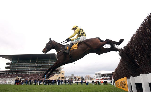 A majestic leap from Gold Cup hero Al Boum Photo to seal Cheltenham glory