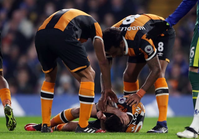 Ryan Mason suffered a career-ending head injury in 2016