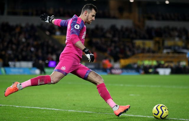 Newcastle's first-choice keeper Martin Dubravka is facing at least a month on the sidelines
