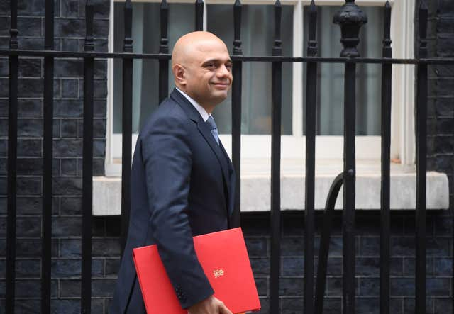 Housing, Communities and Local Government Secretary Sajid Javid