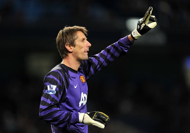 Edwin Van der Sar won the Champions League with United