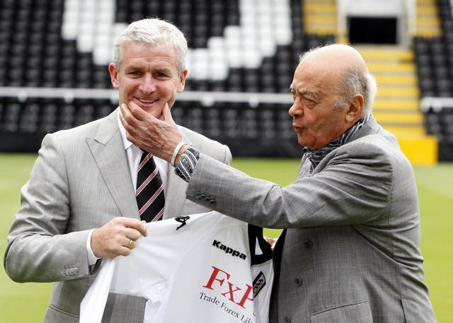 Fulham was Mark Hughes' next stop
