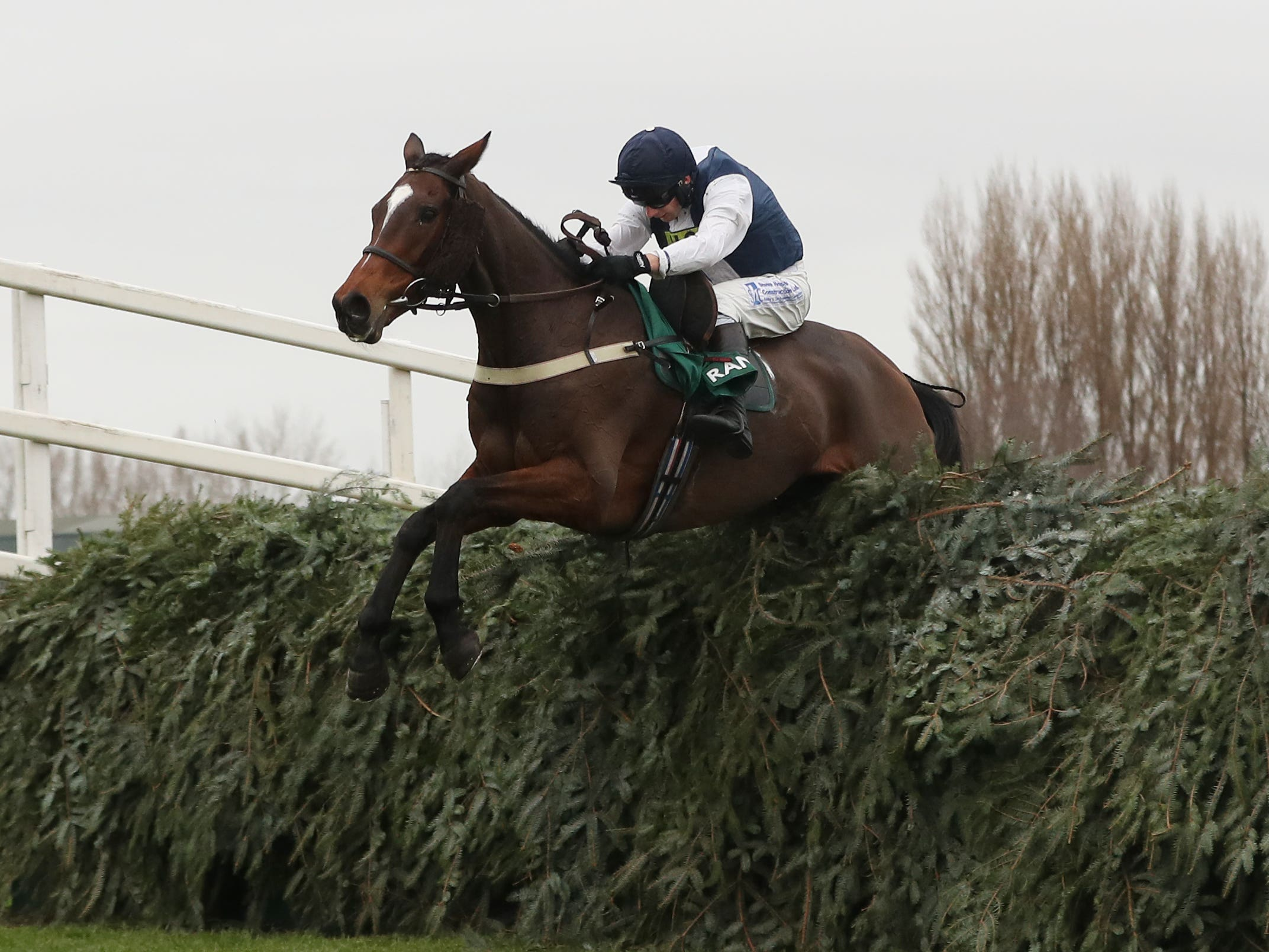 Walk In The Mill could bid to win the Becher Handicap Chase for the third running (David Davies/PA)