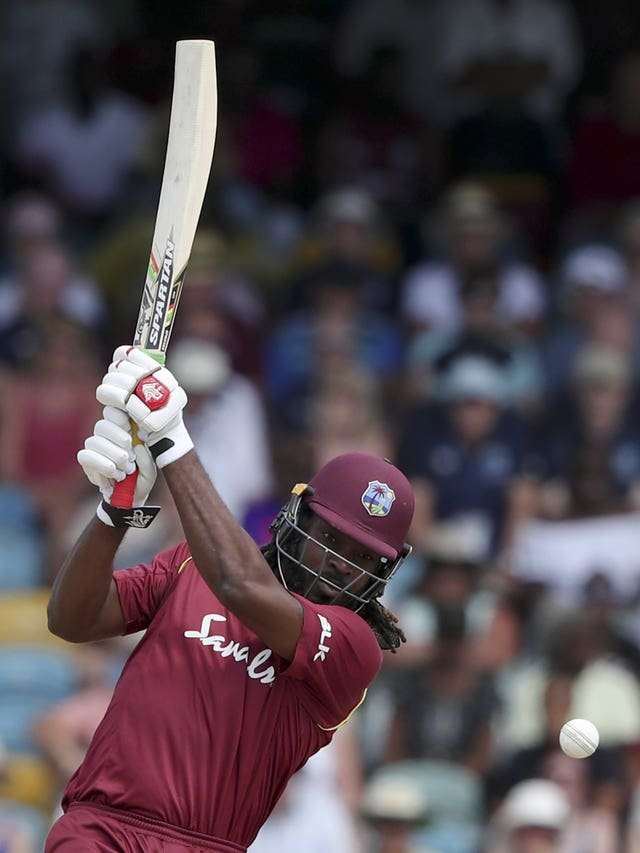 Chris Gayle tops the six-hitting charts in the series with England