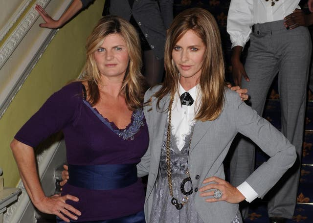Susannah Constantine (left) and Trinny Woodall
