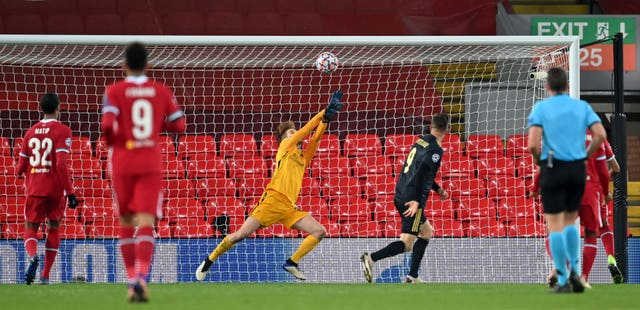 Liverpool's Caoimhin Kelleher settling into first-team ...