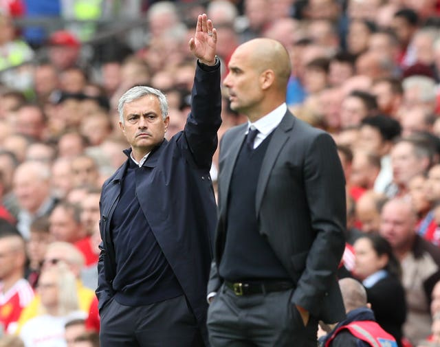 Jose Mourinho (left) and Pep Guardiola (right) have history dating back more than a decade