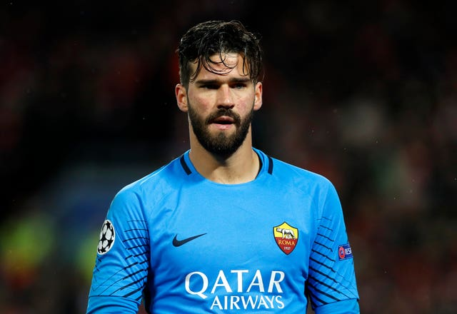 AS Roma's Ramses Alisson could be a target for Liverpool (Martin Rickett/Empics/PA)