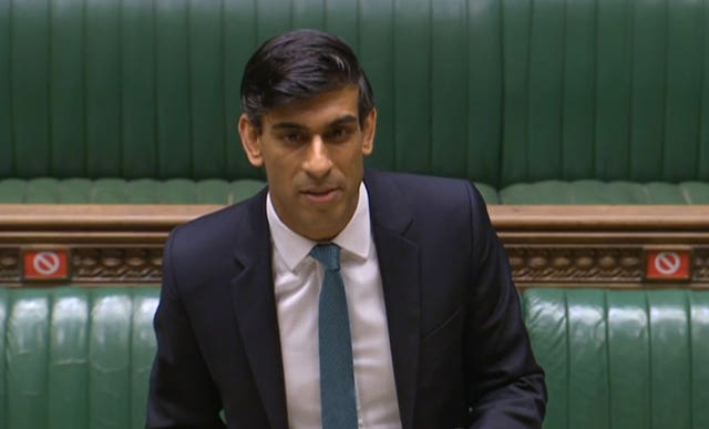 Rishi Sunak delivers his Spending Review