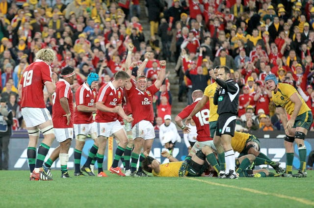 There have been many memorable triumphs for the Lions