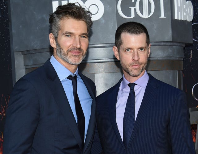 David Benioff, left, and DB Weiss