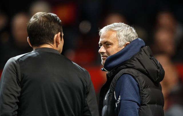 Frank Lampard, left, and Jose Mourinho go head to head again on Saturday