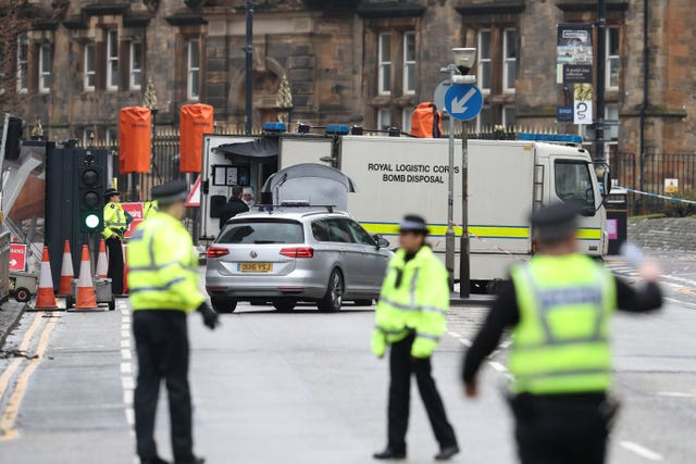 Security alert at University of Glasgow