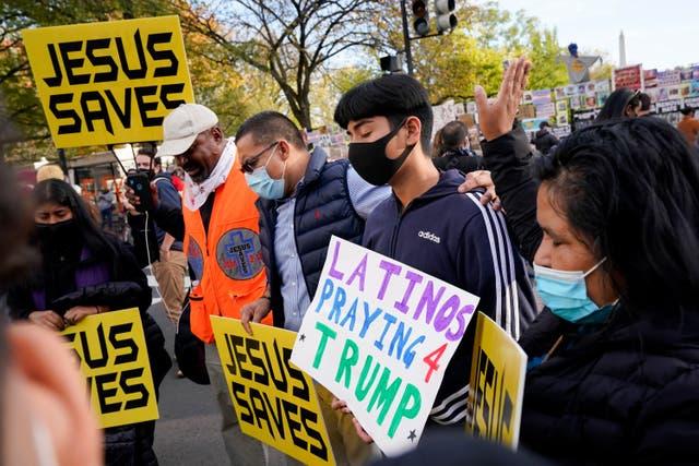 Election 2020 Protest Washington DC
