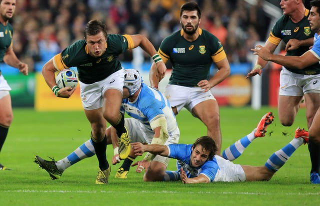 Handre Pollard insists Japan's shock win over South Africa at the 2015 Rugby World Cup will have no bearing on their quarter-final clash in Japan.