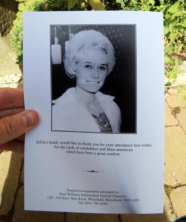 Liz Dawn funeral